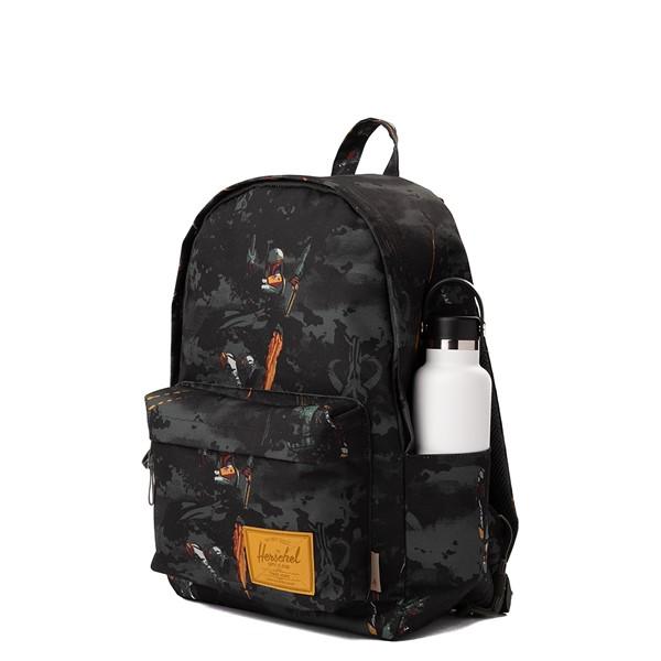 alternate view Star Wars™ x Herschel Supply Co. Boba Fett Classic XL Backpack - GrayALT4