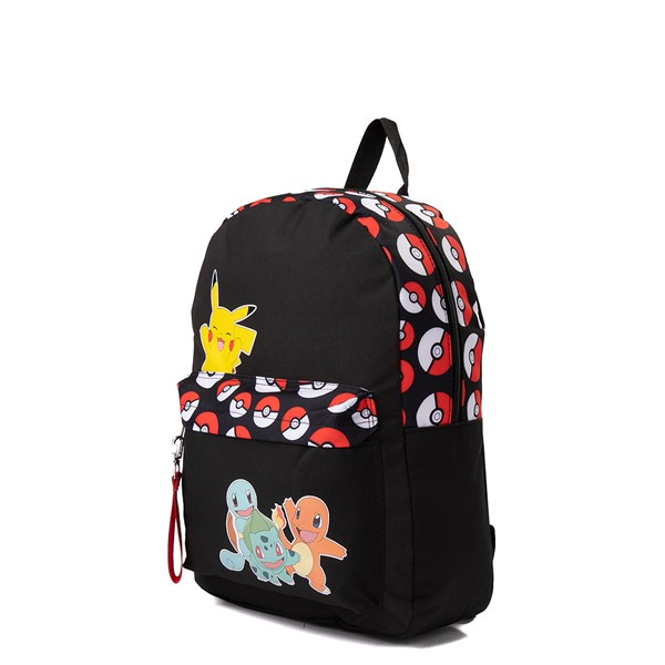alternate view Pokemon Trainer Backpack - BlackALT4-2