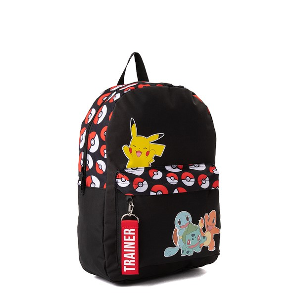 alternate view Pokemon Trainer Backpack - BlackALT4B