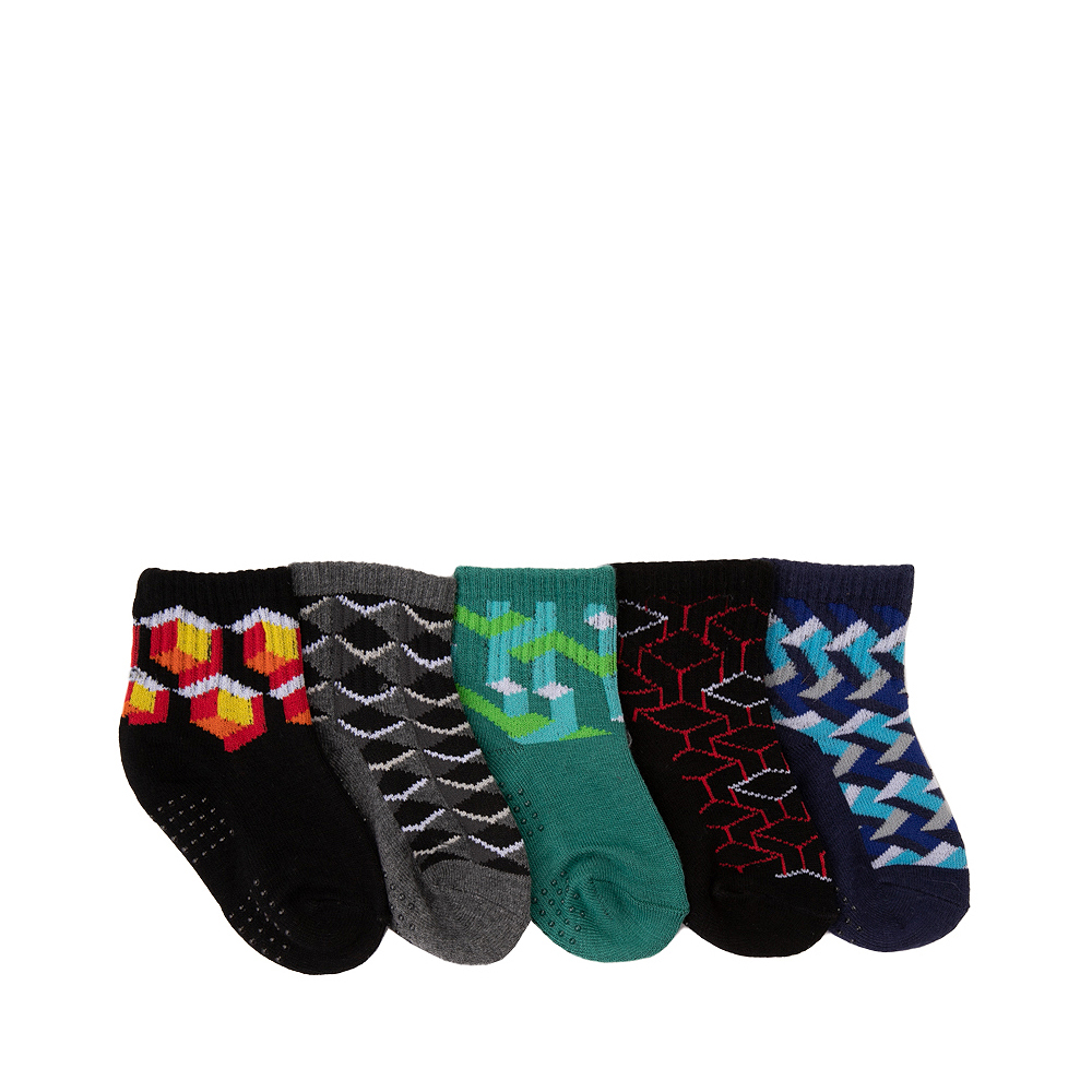 3D Crew Socks 5 Pack - Baby - Multicolor