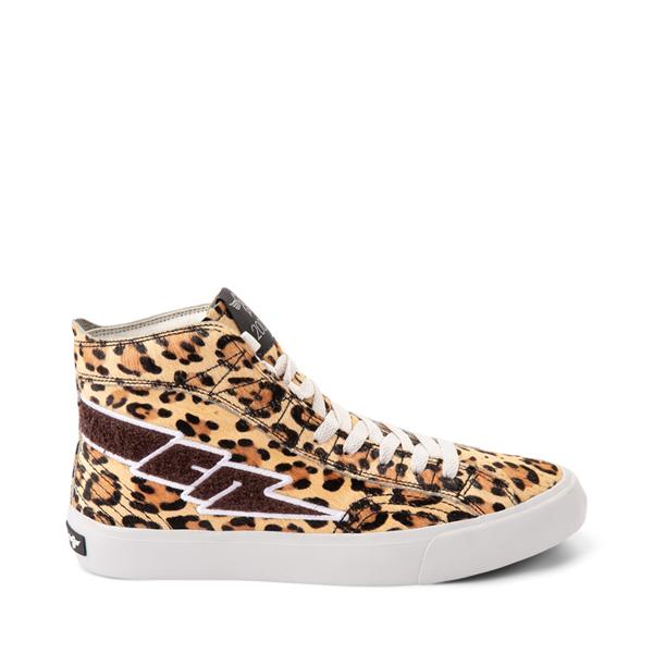 Main view of Womens Creative Recreation Zeus Hi Sneaker - Leopard