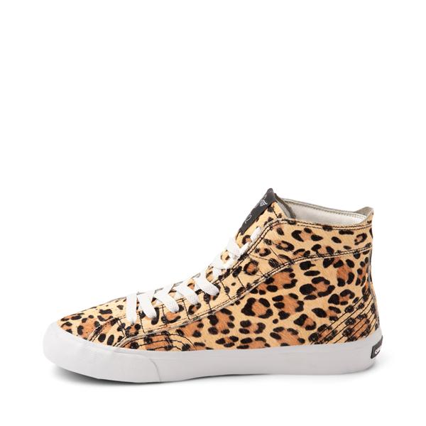 alternate view Womens Creative Recreation Zeus Hi Sneaker - LeopardALT1