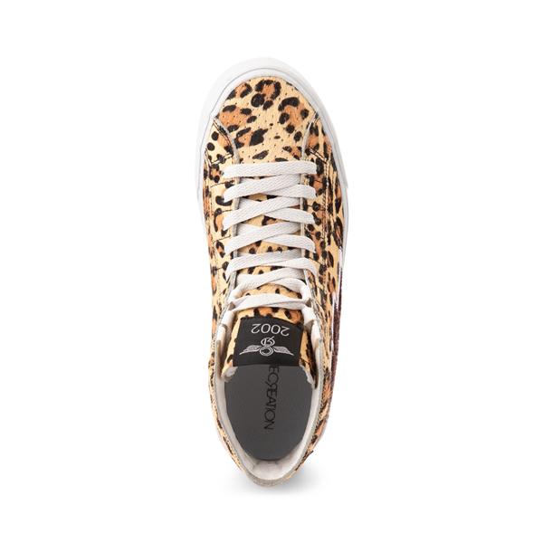 alternate view Womens Creative Recreation Zeus Hi Sneaker - LeopardALT2