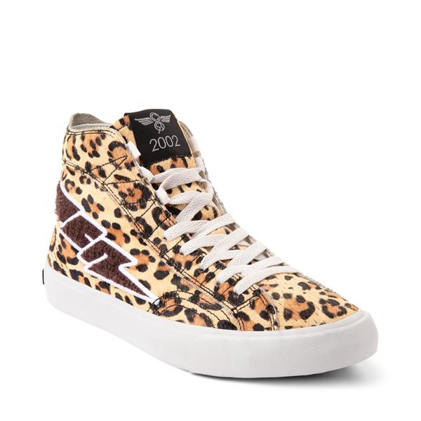 alternate view Womens Creative Recreation Zeus Hi Sneaker - LeopardALT5