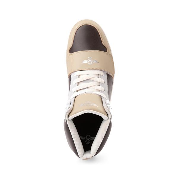 alternate view Mens Creative Recreation Cesario Hi XXI Sneakers - TanALT2