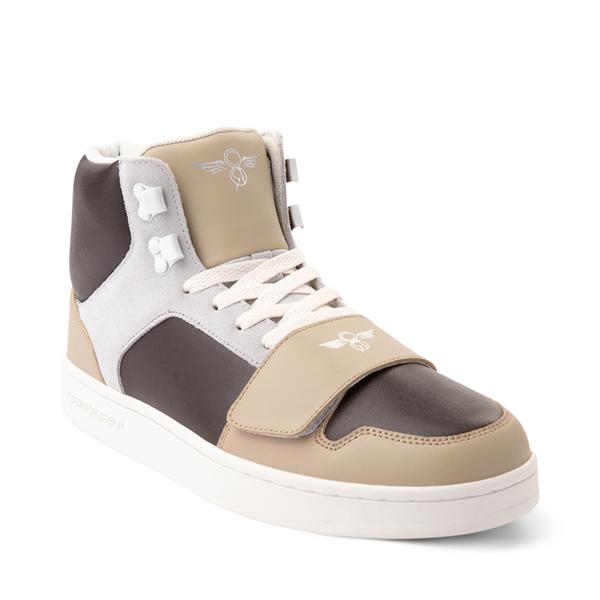 alternate view Mens Creative Recreation Cesario Hi XXI Sneakers - TanALT5