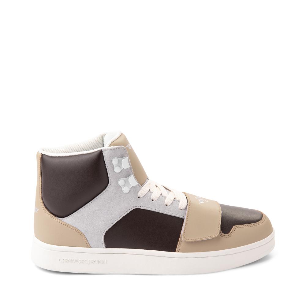 Mens Creative Recreation Cesario Hi XXI Sneakers - Tan