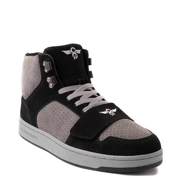 alternate view Mens Creative Recreation Cesario Hi XXI Sneakers - Black / GrayALT5