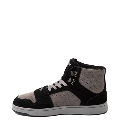 Alternate view of Mens Creative Recreation Cesario Hi XXI Sneakers - Black / Gray