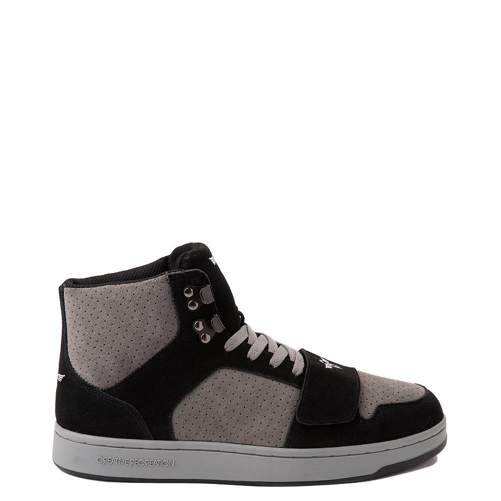 Mens Creative Recreation Cesario Hi XXI Sneakers - Black / Gray