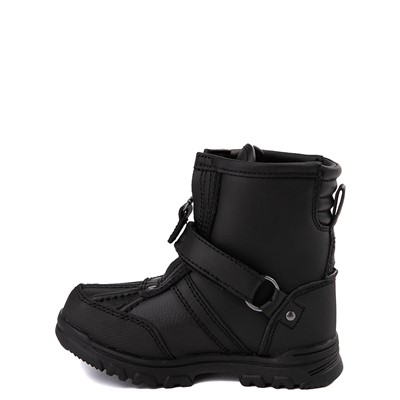 Alternate view of Conquered Boot by Polo Ralph Lauren - Baby / Toddler - Black
