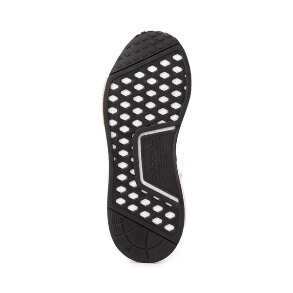 alternate view Womens adidas NMD R1 Athletic Shoe - Black / Party LeopardALT3