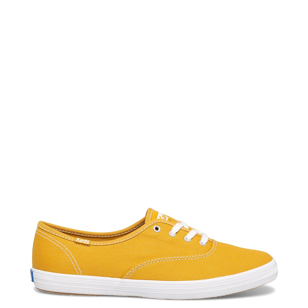 Womens Keds Champion Original Casual Shoe - Harvest Gold