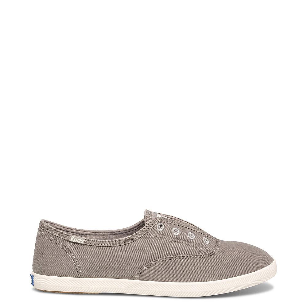 Womens Keds Chillax Casual Shoe - Dazzle Gray