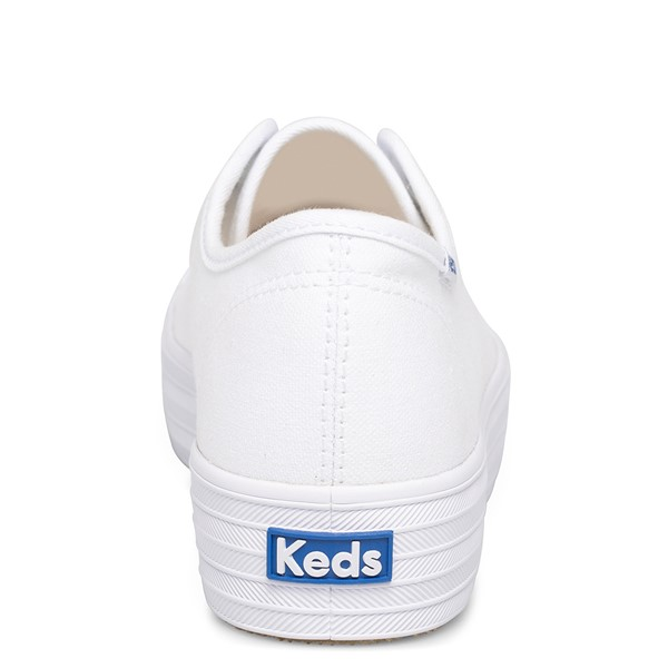 alternate view Womens Keds Triple Kick Casual Platform Shoe - WhiteALT4