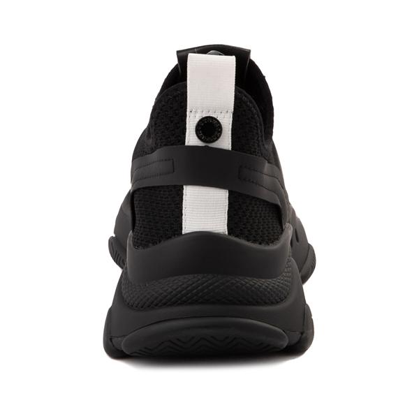 alternate view Womens Steve Madden Myles Athletic Shoe - Black MonochromeALT4