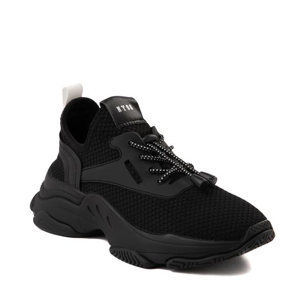 alternate view Womens Steve Madden Myles Athletic Shoe - Black MonochromeALT5