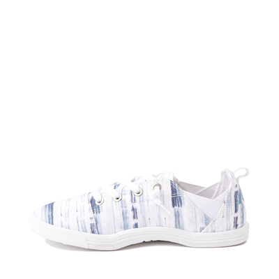 Alternate view of Womens Roxy Libbie Slip On Casual Shoe - White / Navy Stripes