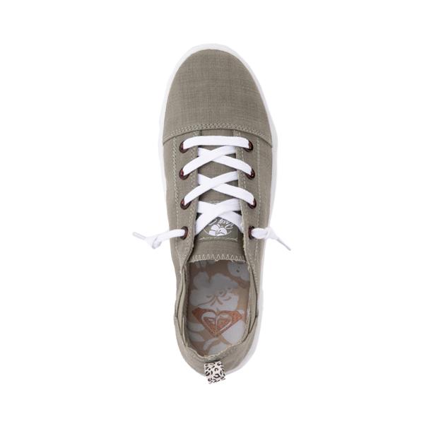 alternate view Womens Roxy Libbie Slip On Casual Shoe - OliveALT2
