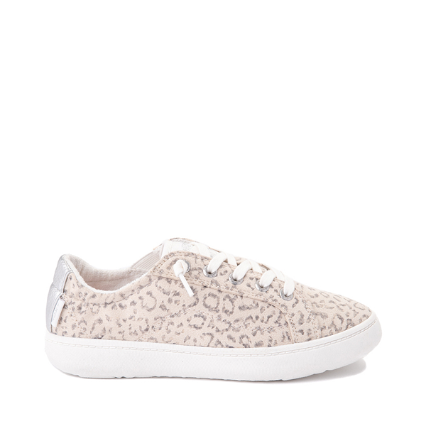 Womens Roxy Crews Slip On Casual Shoe - Leopard