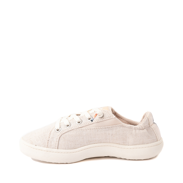 alternate view Womens Roxy Crews Slip On Casual Shoe - TanALT1