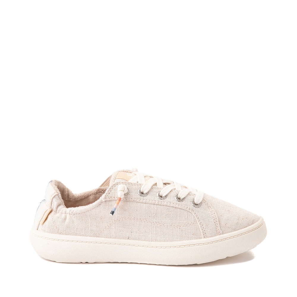 Womens Roxy Crews Slip On Casual Shoe - Tan