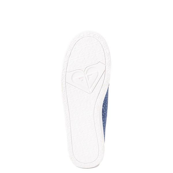 alternate view Womens Roxy Minnow Slip On Casual Shoe - Baja BlueALT3
