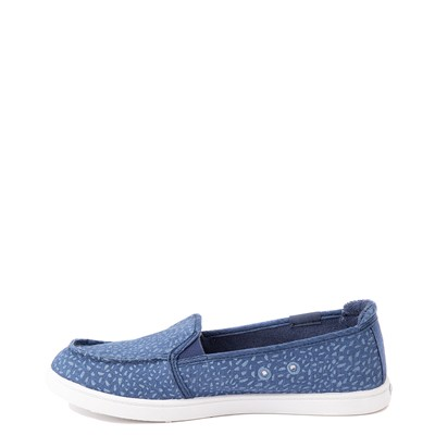 Alternate view of Womens Roxy Minnow Slip On Casual Shoe - Baja Blue