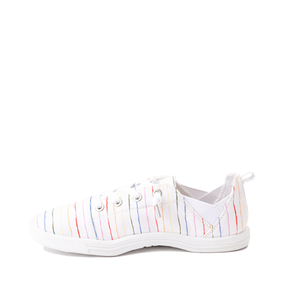 Alternate view of Womens Roxy Libbie Slip On Casual Shoe - White / Rainbow Stripes