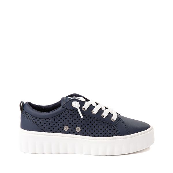 Womens Roxy Sheilahh Platform Casual Shoe - Navy
