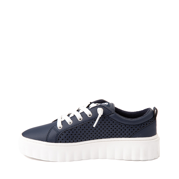 alternate view Womens Roxy Sheilahh Platform Casual Shoe - NavyALT1