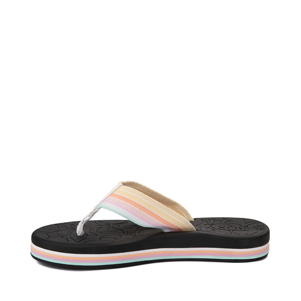 alternate view Womens Roxy Colbee Hi Sandal - Black / MulticolorALT1