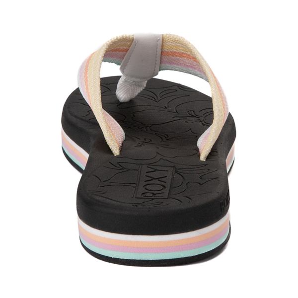 alternate view Womens Roxy Colbee Hi Sandal - Black / MulticolorALT4
