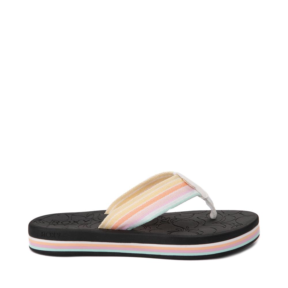 Womens Roxy Colbee Hi Sandal - Black / Multicolor