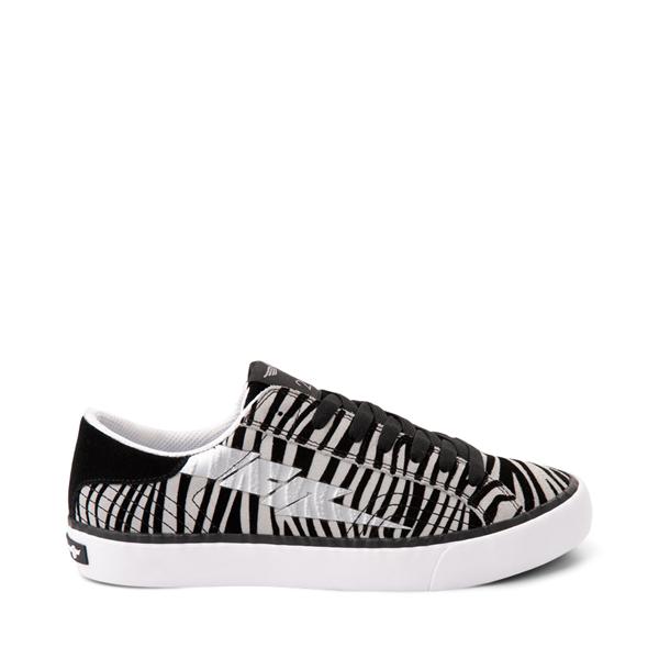 Main view of Womens Creative Recreation Zeus Lo Sneaker - Zebra