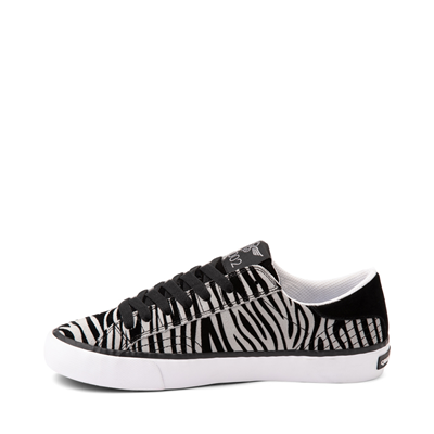 Alternate view of Womens Creative Recreation Zeus Lo Sneaker - Zebra