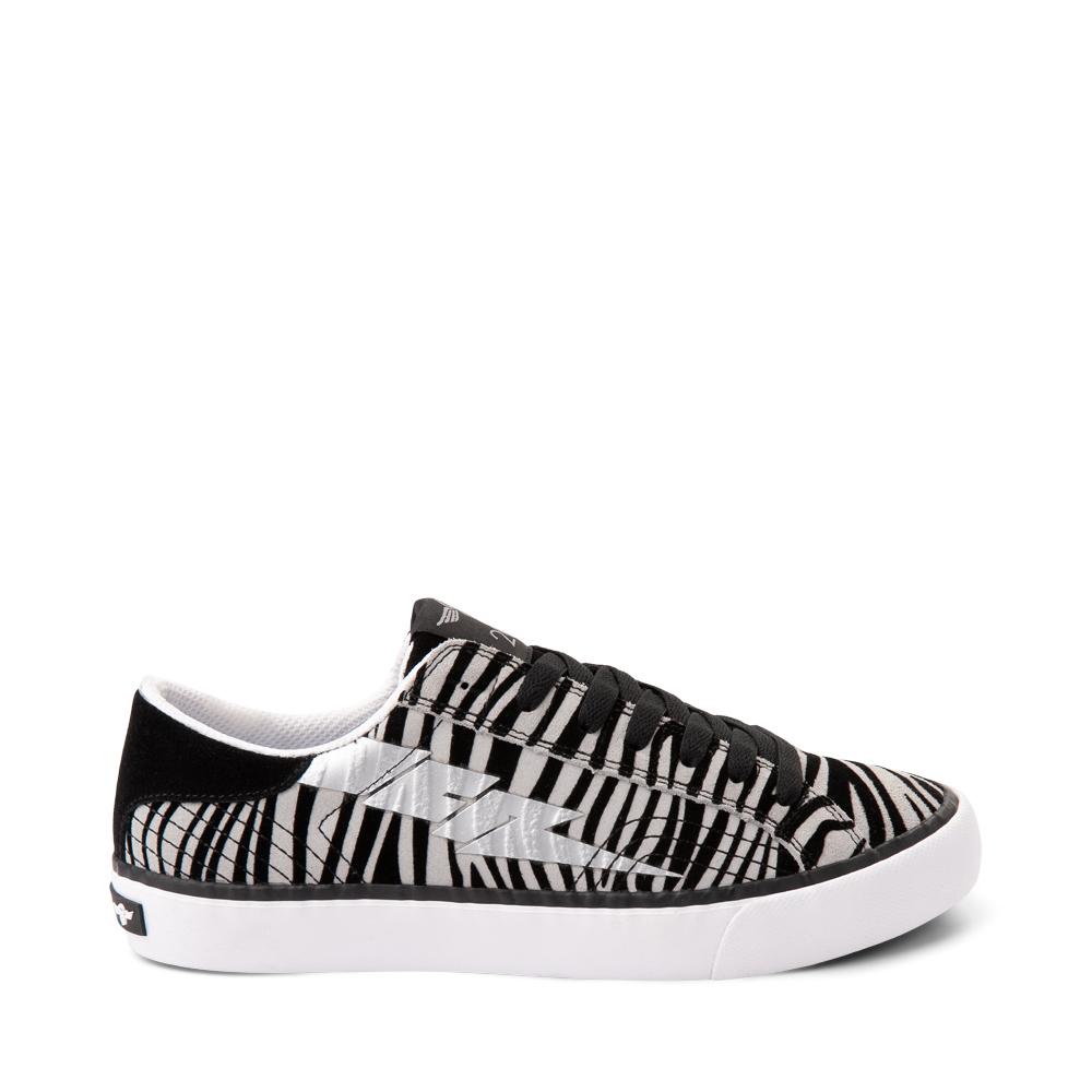 Womens Creative Recreation Zeus Lo Sneaker - Zebra