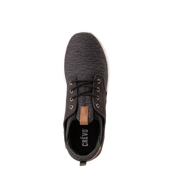 alternate view Mens Crevo Alder Casual Shoe - CharcoalALT2