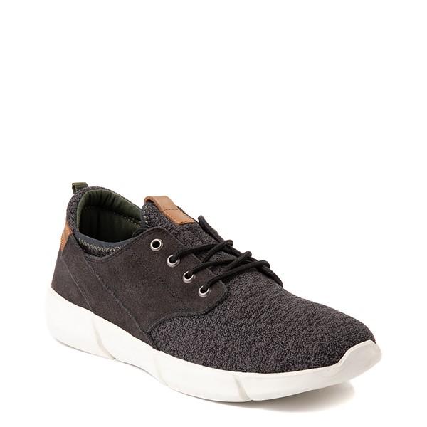 alternate view Mens Crevo Alder Casual Shoe - CharcoalALT5