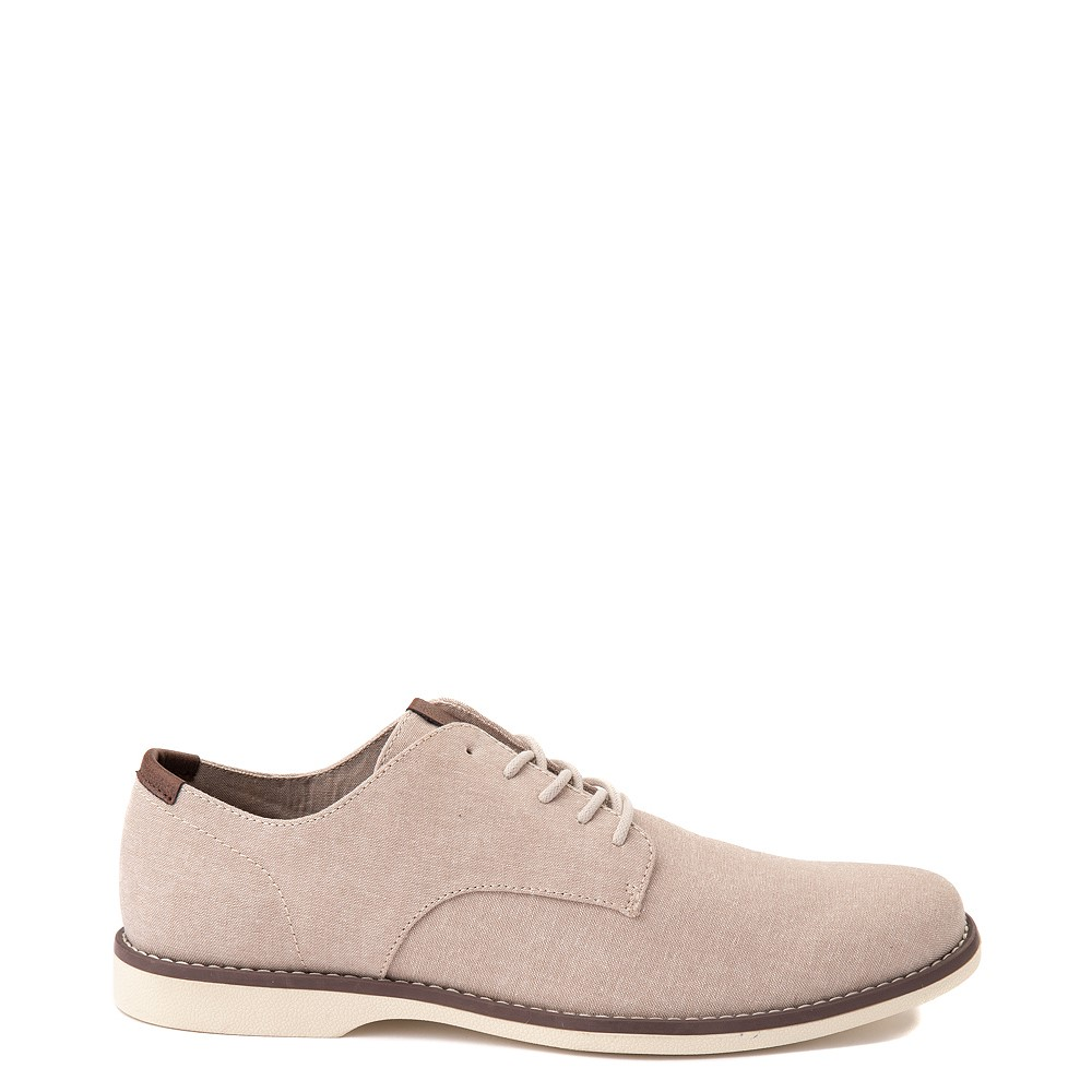 Mens Crevo Buddy Oxford Casual Shoe - Khaki