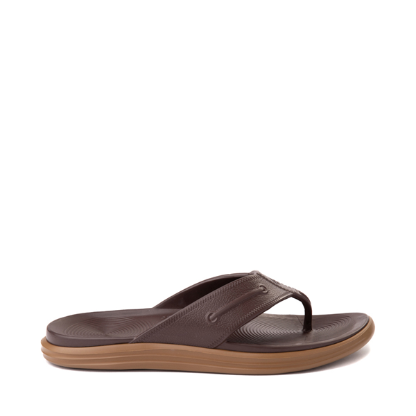 Main view of Mens Sperry Top-Sider Windward Float Sandal - Brown / Gum
