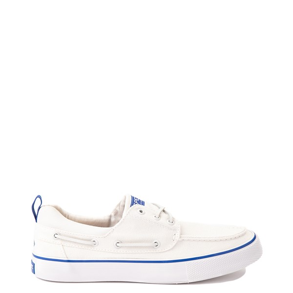 Main view of Mens Sperry Top-Sider Bahama Boat Shoe - White