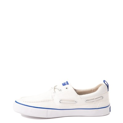 Alternate view of Mens Sperry Top-Sider Bahama Boat Shoe - White