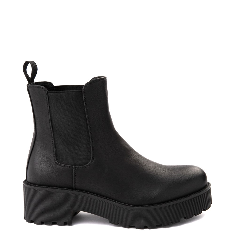 Womens Dirty Laundry Maps Chelsea Boot - Black
