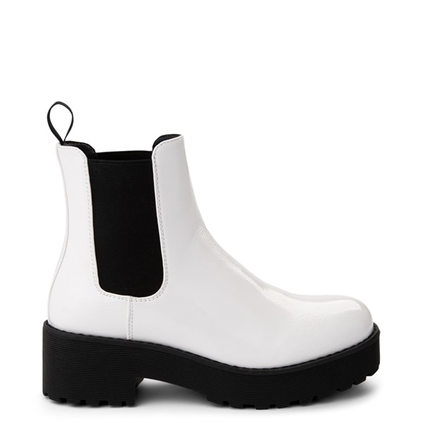 Womens Dirty Laundry Maps Chelsea Boot - White