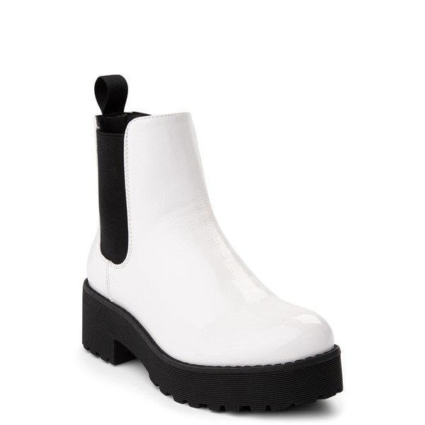 alternate view Womens Dirty Laundry Maps Chelsea Boot - WhiteALT5