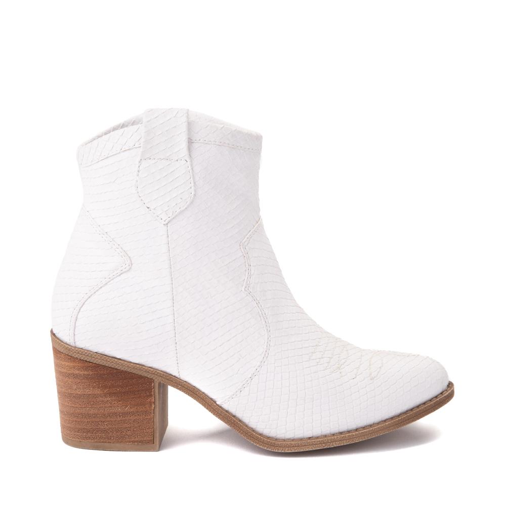 Womens Dirty Laundry Unite Western Boot - White