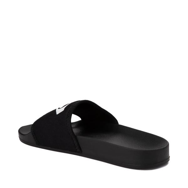 alternate view Womens Roxy Slippy Neo Slide Sandal - BlackALT2