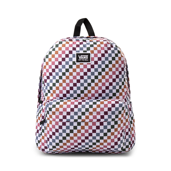 Main view of Vans Old Skool H2O Backpack - Multicolor / Dusted Check