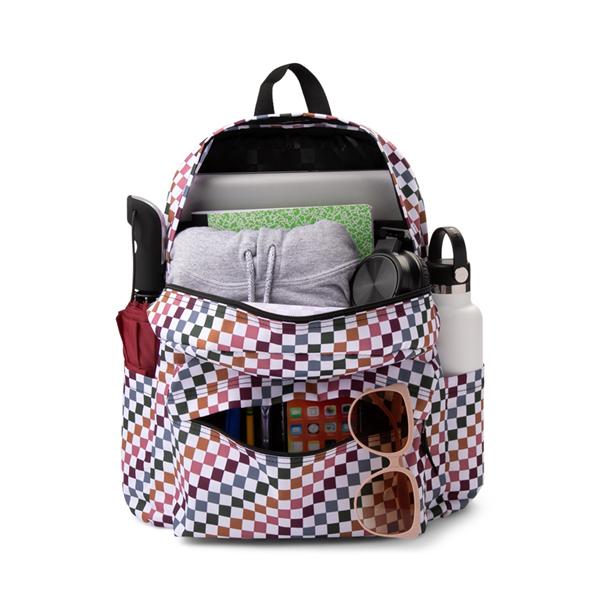 alternate view Vans Old Skool H2O Backpack - Multicolor / Dusted CheckALT1